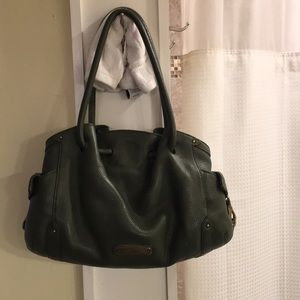 Cole Haan Green Handbag Leather